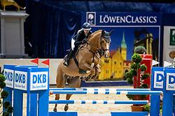 ERCKEN Antonia (GER), Cool Fox HR<br /> Braunschweig - Löwenclassics 2019<br /> HGW Bundesnachwuchschampionat der Springreiter<br /> Stilspringprüfung<br /> 23. März 2019<br /> © www.sportfotos-lafrentz.de/Stefan Lafrentz
