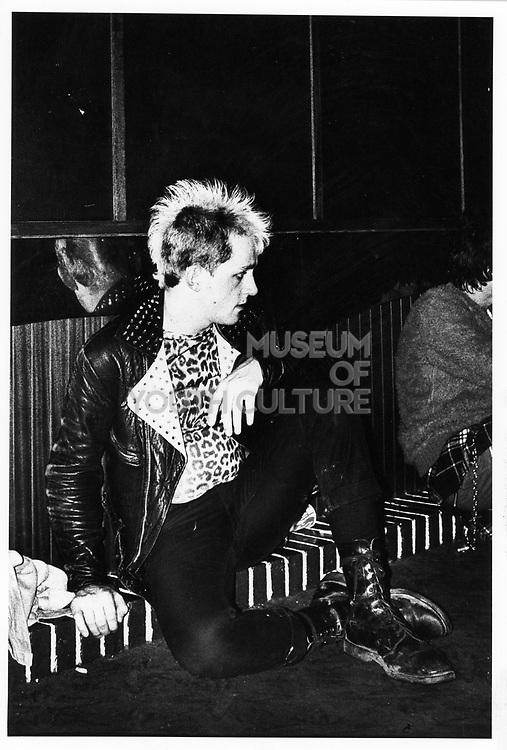 Male Punk, London c1980