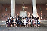 Cutler Scholars Group Portrait. ©Ohio University/ Photo by Kaitlin Owens