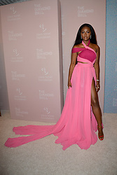 September 13, 2018 - New York, NY, USA - September 13, 2018  New York City..Justine Skye attending the 4th Annual Clara Lionel Foundation Diamond Ball on September 13, 2018 in New York City. (Credit Image: © Kristin Callahan/Ace Pictures via ZUMA Press)
