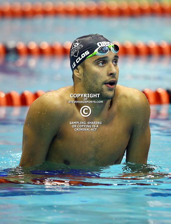 DURBAN, SOUTH AFRICA - APRIL 11:  Chad Le Clos in the Men 200m LC freestyle semi finals Olympic Qualifying time during day 2 of the SA National Aquatic Championships 2016 at Kings Park Aquatic Centre on April 11, 2016 in Durban, South Africa. (Photo by Steve Haag/Gallo Images)