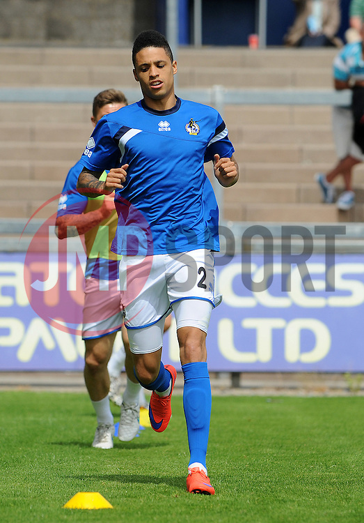 Daniel Leadbitter of Bristol Rovers - Photo mandatory by-line: Neil Brookman/JMP - Mobile: 07966 386802 - 18/07/2015 - SPORT - Football - Bristol - Memorial Stadium - Pre-Season Friendly
