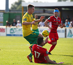 August 28, 2017 - London, United Kingdom - Charlie Stimson of Thurrock FC.during Bostik League Premier Division match between Thurrock vs Billericay Town at  Ship Lane Ground, Aveley on 28 August 2017  (Credit Image: © Kieran Galvin/NurPhoto via ZUMA Press)