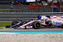 October 1, 2017 - Sepang, Malaysia - Motorsports: FIA Formula One World Championship 2017, Grand Prix of Malaysia, ..#55 Carlos Sainz Junior (ESP, Scuderia Toro Rosso), #31 Esteban Ocon (FRA, Sahara Force India F1 Team) (Credit Image: © Hoch Zwei via ZUMA Wire)