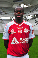 Prince Oniangue - 21.10.2014 - Photo officielle Reims - Ligue 1 2014/2015<br /> Photo : Philippe Le Brech / Icon Sport