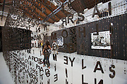 """Exhibition Unconditional Love. Jaume Plensa, """"Glu?ck Auf?"""" 2004"""