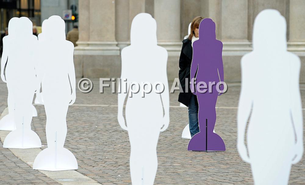 &copy; Filippo Alfero<br /> Torino, 06/03/2009<br /> varie<br /> Voci nel silenzio - iniziativa contro la violenza sulle donne
