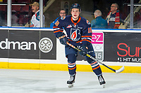 KELOWNA, BC - FEBRUARY 23: Connor Zary #18 of the Kamloops Blazers warms up on the ice against the Kelowna Rockets at Prospera Place on February 23, 2019 in Kelowna, Canada. (Photo by Marissa Baecker/Getty Images)