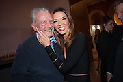 DAVID BAILEY; HEATHER KERZNER, Opening of Bailey's Stardust - Exhibition - National Portrait Gallery London. 3 February 2014