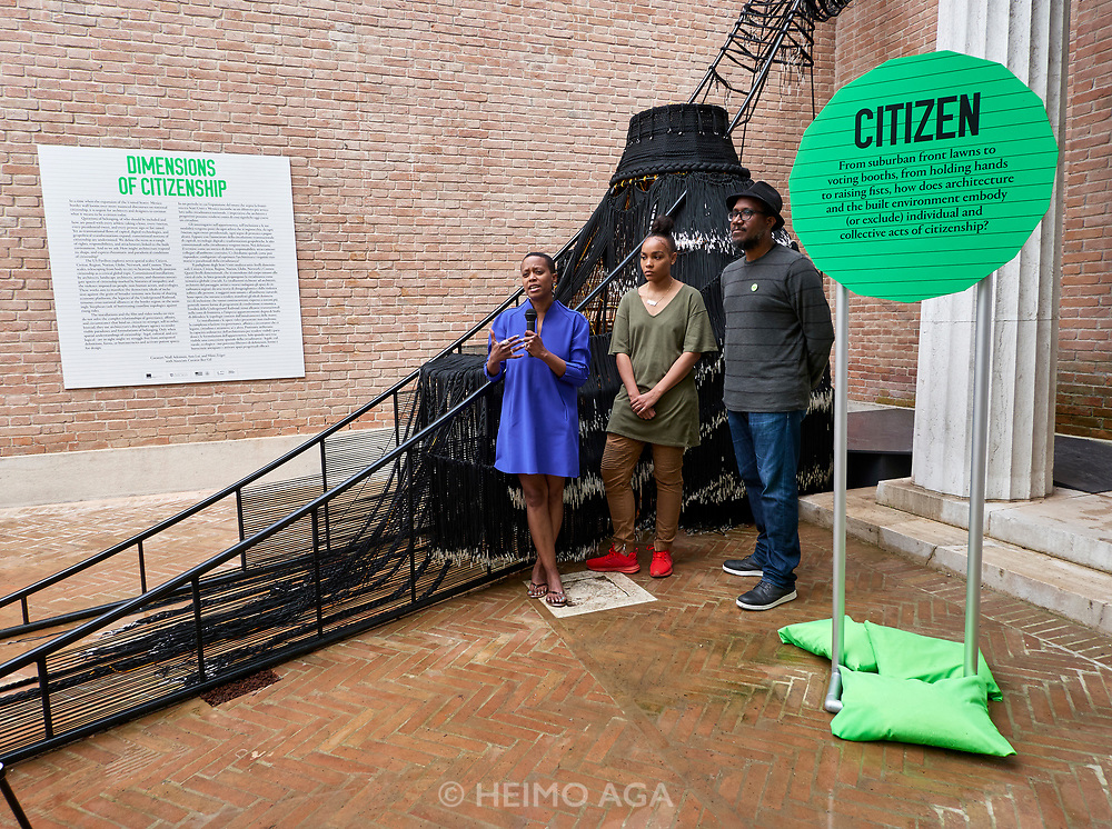 "FREESPACE - 16th Venice Architecture Biennale. U.S.A., ""Dimensions of Citizenship""."