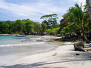 A lazy time on the beach at Puerto Viejo, Limon, Costa Rica.
