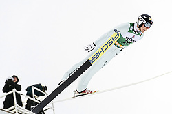 February 8, 2019 - Lahti, Finland - PaweÅ' SÅ'owiok competes during Nordic Combined, PCR/Qualification at Lahti Ski Games in Lahti, Finland on 8 February 2019. (Credit Image: © Antti Yrjonen/NurPhoto via ZUMA Press)