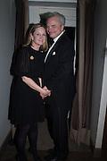 Prince & Princess Stefan Ratibor, Nicky Haslam hosts dinner at  Gigi's for Leslie Caron. 22 Woodstock St. London. W1C 2AR. 25 March 2015
