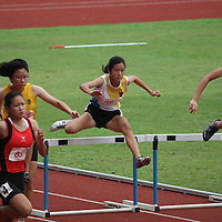 B Division Girls 100m Hurdles