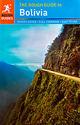 Rough Guide To Bolivia. Book Cover.<br />