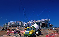 Construction Engineers, Operators, Workers, Stadium Complex, Power Plants