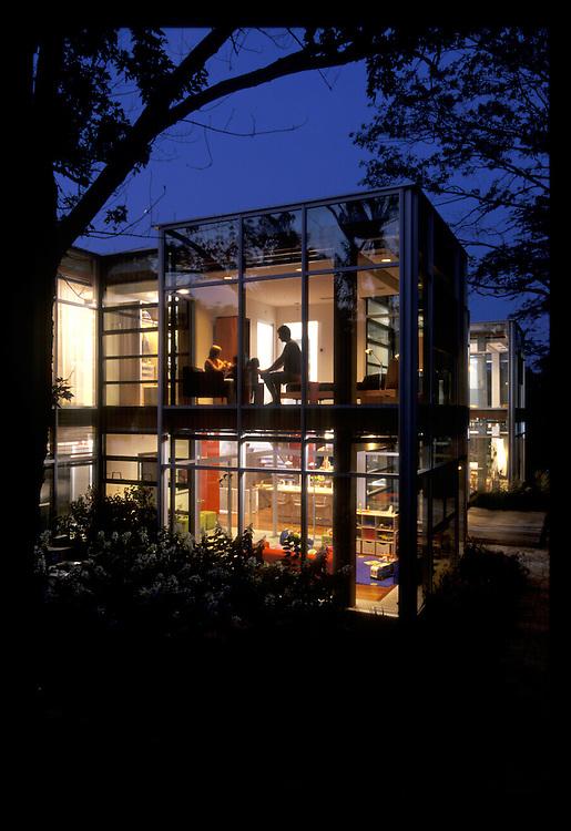 Glass house, Chicago, Illinois,Thomas Roszak Architect,