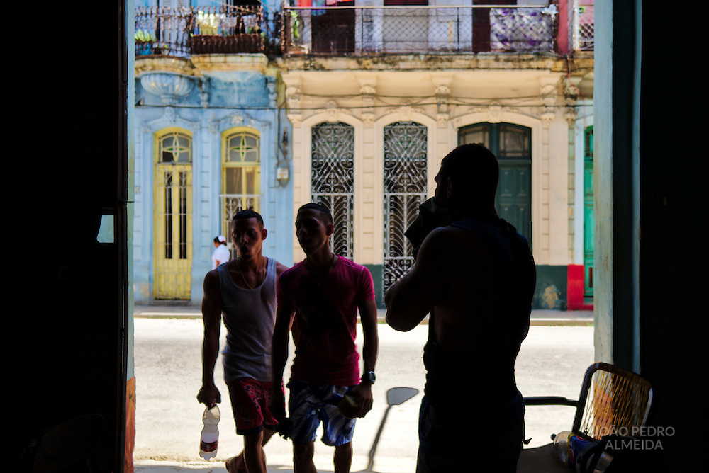 Gym in Centro Habana.