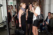 ALIX SAMUELSON; KATHRYN EBNER; ANDREA KOWALSKI, Browns Club Monaco launch. hosted by Lou Doillon, at the Schools of the Royal Academy of Art. Piccadilly, London. 19 February 2010.  .-DO NOT ARCHIVE-© Copyright Photograph by Dafydd Jones. 248 Clapham Rd. London SW9 0PZ. Tel 0207 820 0771. www.dafjones.com.