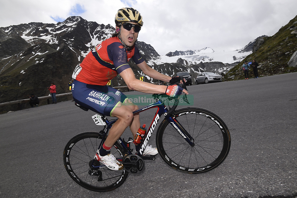 June 16, 2017 - Solden, Suisse - SOLDEN, AUSTRIA - JUNE 16 : IZAGIRRE Ion of Bahrain Merida Pro Cycling Team during stage 7 of the Tour de Suisse cycling race, a stage of 160 kms between Zernez and Solden on June 16, 2017 in Solden, Austria, 16/06/2017 (Credit Image: © Panoramic via ZUMA Press)