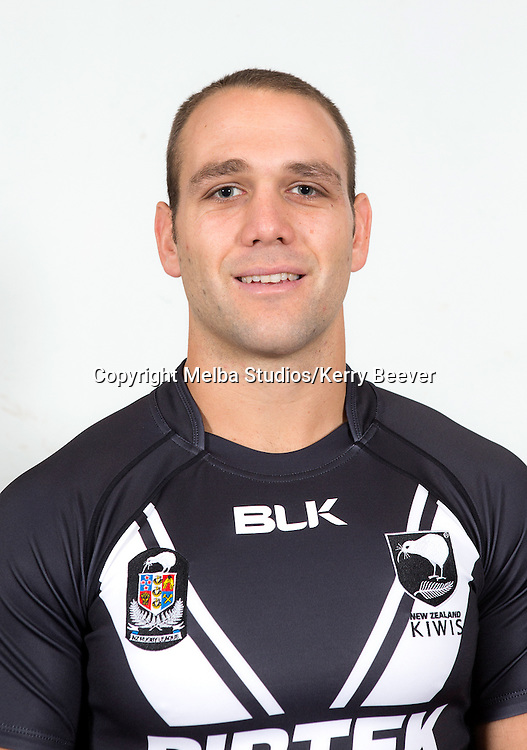 Jason Nightingale, New Zealand Kiwis rugby league team headshots ahead of the 2014 Kiwis v Kangaroos test. Sydney, Australia. 28 April 2014. Photo: Melba Studios/Kerry Beever
