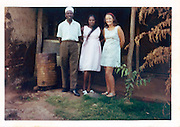 The daughter of the British High Commission in Kibera who was conducting cultural research on the Nubian community.  (1970s)
