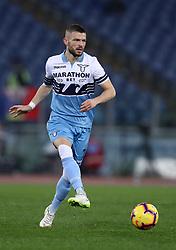 February 7, 2019 - Rome, Italy - Ss Lazio v Empoli Fc - Serie A.Valon Berisha of Lazio at Olimpico Stadium in Rome, Italy on February 7, 2019. (Credit Image: © Matteo Ciambelli/NurPhoto via ZUMA Press)