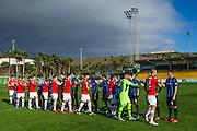 ESTEPONA - 07-01-2016, AZ in Spanje 7 januari, Club Brugge, 2-2, AZ speler Ron Vlaar