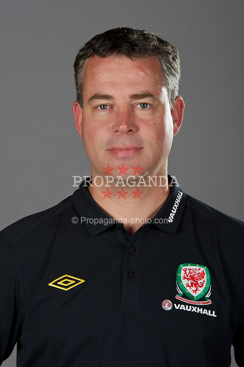 NEWPORT, WALES - Tuesday, August 30, 2011: Wales' assistant manager Raymond Verheijen. (Pic by David Rawcliffe/Propaganda)