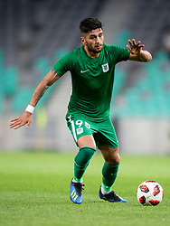 Daniel Avramovski of NK Olimpija Ljubljana during 1st Leg football match between NK Olimpija Ljubljana and FC Crausaders in 2nd Qualifying Round of UEFA Europa League 2018/19, on July 26, 2018 in SRC Stozice, Ljubljana, Slovenia. Photo by Urban Urbanc / Sportida