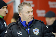 John Sheridan during the Sky Bet League 1 match between Blackpool and Oldham Athletic at Bloomfield Road, Blackpool, England on 16 February 2016. Photo by Pete Burns.
