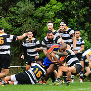 Premier Rugby union match between Tawa v Oriental-Rongotai at Lyndhurst Park, Tawa, Wellington, New Zealand on 25 June 2016. Final score 30-22 to Oriental-Rongotai