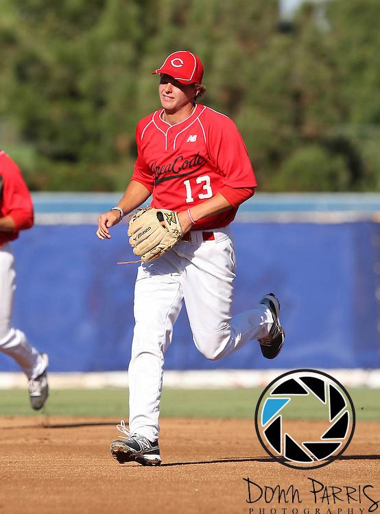 Brody Weiss 2012 Area Code Baseball, Blair Field, Aug 5 2012, Long Beach CA (Donn Parris)