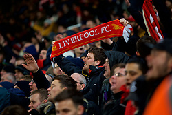 STOKE-ON-TRENT, ENGLAND - Wednesday, November 29, 2017: Liverpool supporters during the FA Premier League match between Stoke City and Liverpool at the  Bet365 Stadium. (Pic by David Rawcliffe/Propaganda)