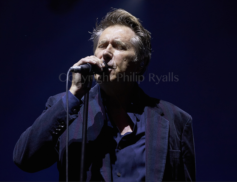 OXFORDSHIRE, UK - JULY 09: Bryan Ferry performs on stage at The Cornbury Music Festival on July 9th, 2016 in Oxfordshire, United Kingdom. (Photo by Philip Ryalls)**Bryan Ferry