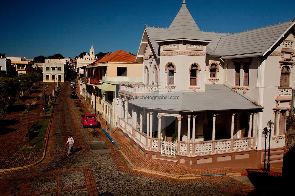 Casa Morales Marco built in 1915 in the San German historic district, San German, Puerto Rico