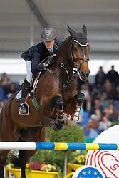 Bijlsma Maaike (NED) - Vedor<br /> World Championship Young Horses Lanaken 2008<br /> Photo Copyright Hippo Foto
