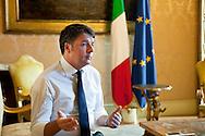 Matteo Renzi, Italian Prime Minister from 2014 until 2016, Rome, Italy