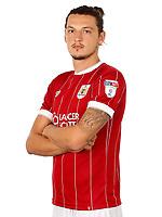 Milan Djuric of Bristol City  - Mandatory by-line: Matt McNulty/JMP - 01/08/2017 - FOOTBALL - Ashton Gate - Bristol, England - Bristol City Headshots