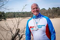 18-03-2018 NED: We hike to change diabetes, Soest<br /> Training voor de Camino 2018 op de Soesterduinen / Eric