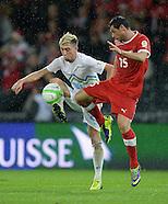 Fussball International WM Qualifikation 2014: Schweiz - Slowenien