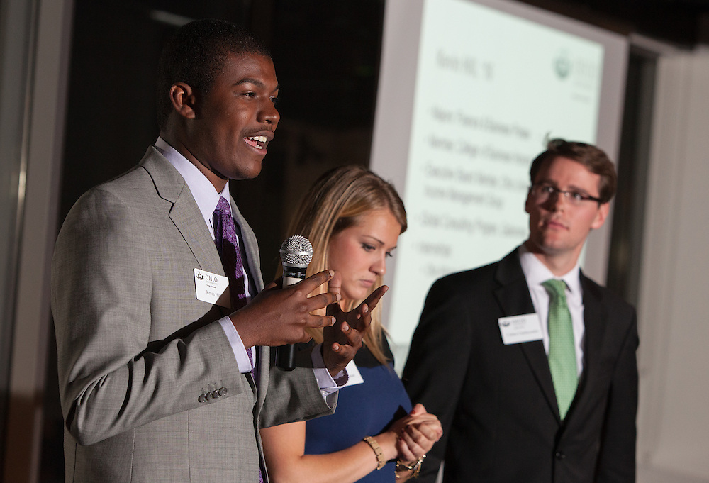 Recipe for Success, a College of Business advancement event at the Ivory Room in Columbus, Ohio. © Ohio University / Photo by Lauren Pond