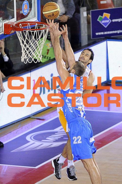 DESCRIZIONE : Roma Lega A 2014-2015 Acea Roma Banco di Sardegna Sassari<br /> GIOCATORE : Rok Stipcevic<br /> CATEGORIA : tiro sottomano<br /> SQUADRA : Acea Roma<br /> EVENTO : Campionato Lega A 2014-2015<br /> GARA : Acea Roma Banco di Sardegna Sassari<br /> DATA : 02/11/2014<br /> SPORT : Pallacanestro<br /> AUTORE : Agenzia Ciamillo-Castoria/Max.Ceretti<br /> GALLERIA : Lega Basket A 2014-2015<br /> FOTONOTIZIA : Roma Lega A 2014-2015 Acea Roma Banco di Sardegna Sassari<br /> PREDEFINITA :