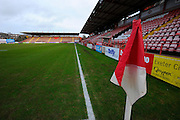 St James Park before the Sky Bet League 2 match between Exeter City and Accrington Stanley at St James' Park, Exeter, England on 23 January 2016. Photo by Graham Hunt.