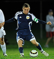 North Ridgeville at Vermilion in a boys varsity soccer match on October 5, 2011 in Vermilion.