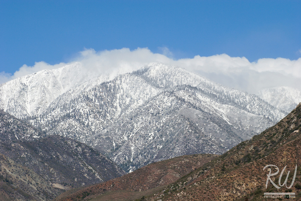 Mount Baldy First Winter Snow, Southern California