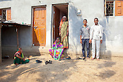 21 April 2016 - Gategaon, Latur - INDIA.<br /> <br /> EXCLUSIVE FEATURE<br /> India drought drives farmers to suicide<br /> <br />  Mahakant Mali hanged himself from a mango tree a short distance from his farm a few weeks ago, a victim of the severe drought affecting central India<br /> <br /> Mali&rsquo;s soya bean crop had withered away and he had racked up loans of 150,000 rupees as he bored wells to find water in Maharashtra state.<br /> <br /> On a Monday evening, the 55-year-old told his wife he was going to meet a friend and did not return. A child discovered his body the following morning.<br /> <br /> &ldquo;What can I do?&quot; says his widow Kamalbai at their home in Gategaon, one of 943 villages in Maharashtra&rsquo;s Latur district.<br /> <br /> Latur is part of the state&rsquo;s predominantly agricultural Marathwada region, where 273 farmers committed suicide between January and March this year.<br /> <br /> The area is among the worst affected by the drought and some families in Latur have left for cities such as the state capital Mumbai, nearly 500 kilometres away. In Latur town, there are huge queues at water storage tanks that are fed from dams. People wait in the searing heat for hours, sometimes the entire day, to fill up their containers. Police guard some of the tanks to prevent fights.<br /> <br /> Water is also being supplied to Latur by rail, with two 50-wagon trains arriving last week. The water is first taken to a filtration plant before being distributed across the town by lorry.<br /> <br /> The Indian government says about 330 million people in 10 states are affected by the drought, which has been blamed on two consecutive years of poor monsoon rainfall. Adding to their misery, temperatures are above 40&deg;C &ndash; unusually high for the time of year.<br /> <br /> Widespread production of sugar cane, a water intensive crop, in Maharashtra&rsquo;s Marathwada region, which includes the districts of Latur, Beed and Osmanabad, is also widely blamed for draining water resources.<br /> <br /> &ldquo;The priority is drinking water and getting food grains to the people,&quot; says Saqueb Osmani, the disaster managemen