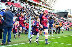 Mascot - Mandatory by-line: Dougie Allward/JMP - 01/12/2019 - RUGBY - Ashton Gate - Bristol, England - Bristol Bears v London Irish - Gallagher Premiership Rugby