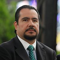 Toluca, México.- Mario Antonio Martínez Almazan, presidente de la Asociación de Hoteleros durante la Toma de Protesta de los integrantes del Comité Técnico del  Fideicomiso para la Promoción y Difusión Turística de Toluca, el cual tendrá el objetivo de promover los atractivos del municipio.  Agencia MVT / Crisanta  Espinosa