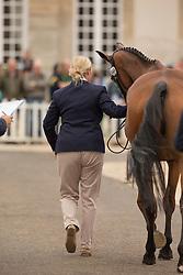 Zara Philips, (GBR), High Kingdom - First Horse Inspection  - Alltech FEI World Equestrian Games™ 2014 - Normandy, France.<br /> © Hippo Foto Team - Dirk Caremans<br /> 25/06/14